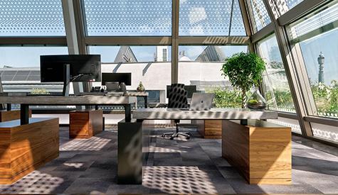 投资公司高端办公室设计
