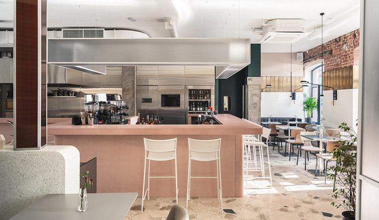 咖啡厅餐厅设计