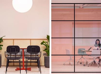 伦敦现代风格设计工作室装修