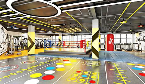 番禺区顶一健身房设计
