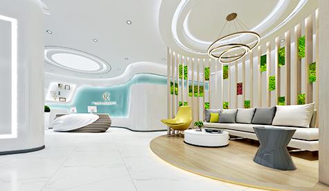 广州娇若生物科技公司办公室设计