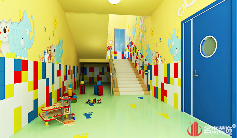 幼儿园装修之楼梯间设计