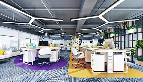 广州安卫普医药办公室装修设计