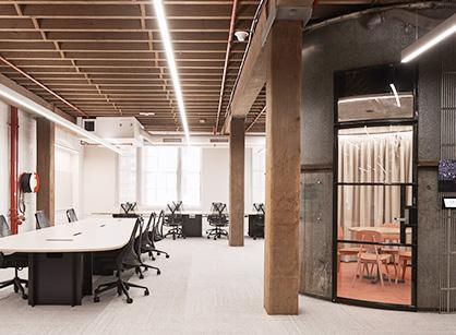 通讯公司总部办公室装修设计