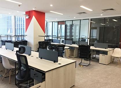 祝贺天博电子办公室装修项目圆满完工