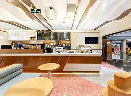 分享工业风格咖啡厅装修设计