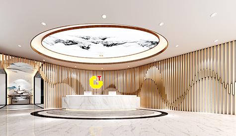 广州金土办公室装修设计