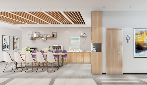 雷尼绍贸易公司办公室装修设计