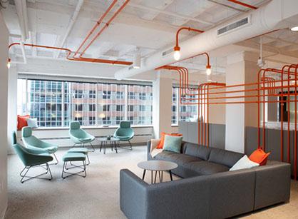 保持现代风格办公室设计看它的独特点