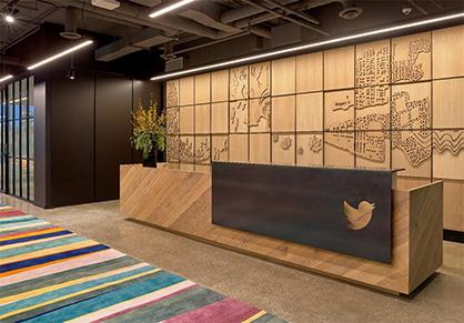 Twitter多伦多办公室装修分享