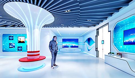 广州金鹏集团展厅设计