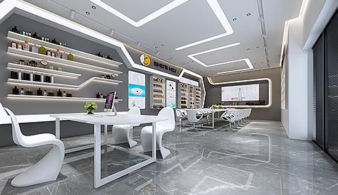 广州盛蔻化妆品公司办公室设计
