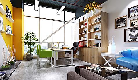番禺区电子商务园办公室设计