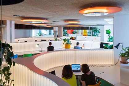 广州装修设计公司带你走进智能化的办公室