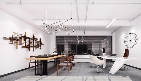 广州字节工厂科技办公室装修设计