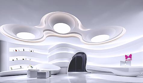 宏强集团华南总部办公室装修设计