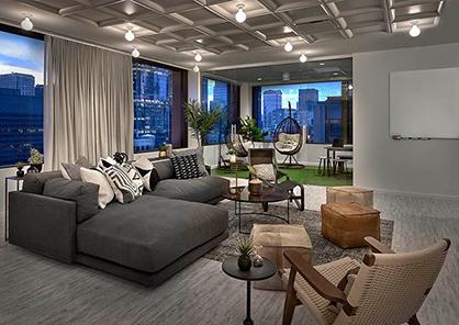 广州佛山办公室设计地板装修方案