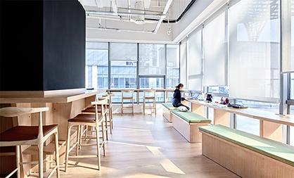 广州办公室装修要利用色彩的力量