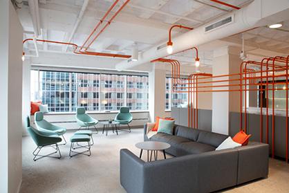广州办公室设计舒适才是硬道理