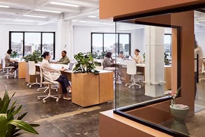 老板和员工都爱的简约型办公室装修