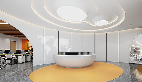 广州特品述印刷办公室装修设计