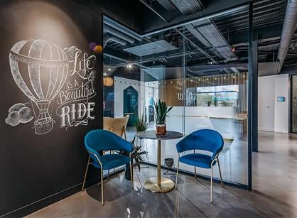 分享联合办公室装修Le Village巴黎形象空间设计