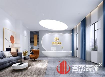 来自广州得越科技办公室装修项目的现场返图