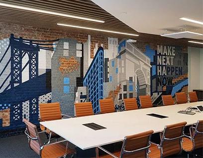 美国硅谷SVB银行办公室装修设计图赏
