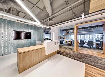 分享Ignite在芝加哥设立的办公室装修设计