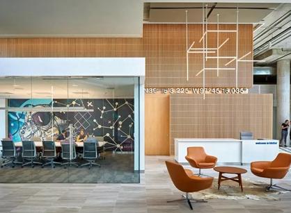 看看Viasat数位卫星通信公司在奥斯汀的办公室装修设计吧