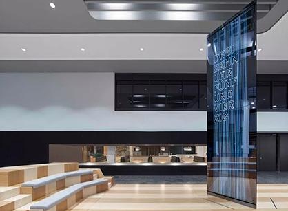 带你去看看沃尔多夫SAP软件培训中心的办公室装修改造