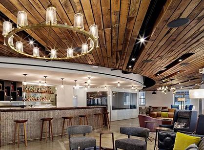 酒业巨头Pernod Ricard纽约总部办公室装修改造设计
