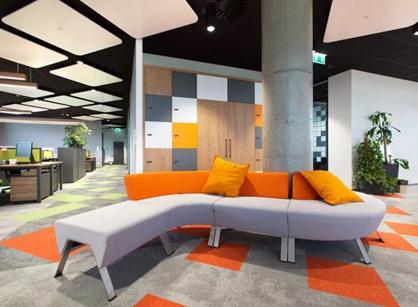 走!去看看分销商英迈Ingram Micro华沙办公室装修设计