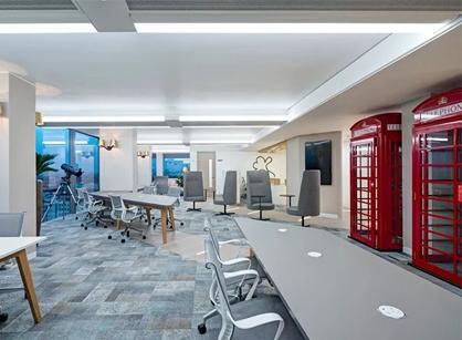 走去看看软件巨头Citrix思杰伦敦办公室装修设计
