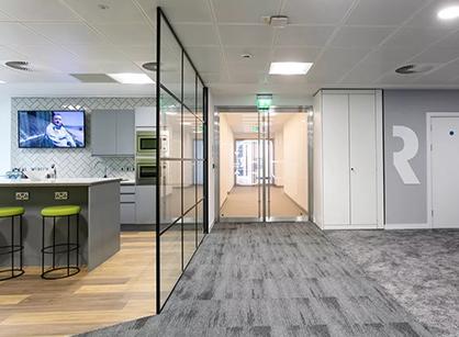 来自英国rethink group伯明翰办公室装修设计改造