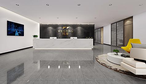 伟龙金溢科技有限公司办公室装修设计