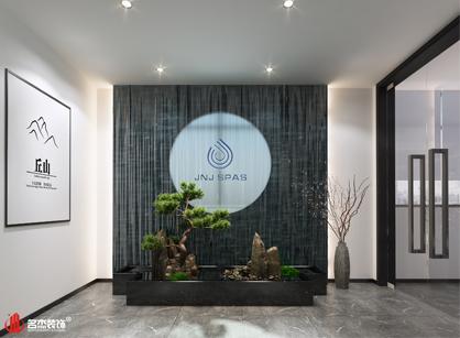 广州健之杰洁具办公室装修设计项目进行中