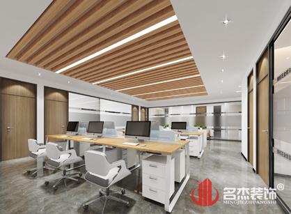 广东汇龙百川科技办公室装修设计项目紧张进行中