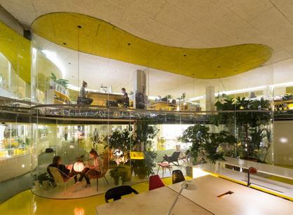 Second home伦敦总部办公室装修设计空间