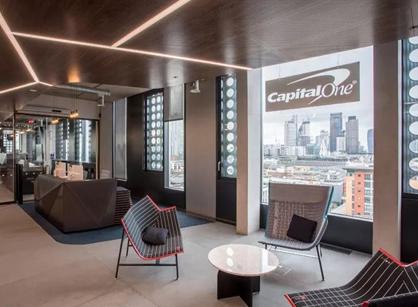 Capital one伦敦办公室装修设计案例分享