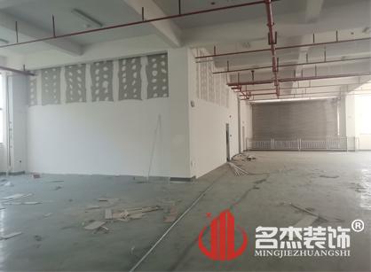 广州华乐充气制品办公室装修项目紧张进行中