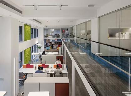 欣赏下来自格洛伊南宁办公室装修设计空间