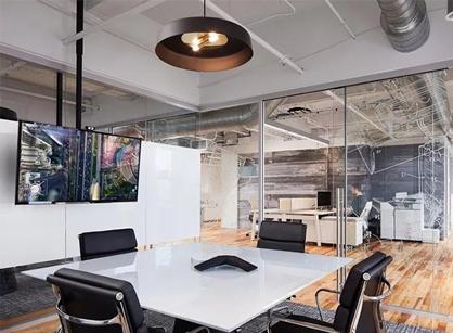 走进美国金伯利芝加哥办公室设计装修空间