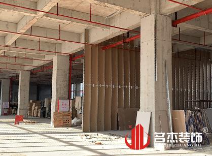 广州市宝勒博汽车部件办公室装修设计正在进行中