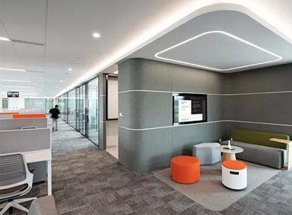 安波福APTIV上海安亭办公室总部装修设计