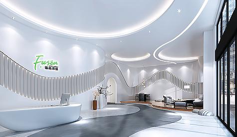 广州福森医药科技办公室装修设计