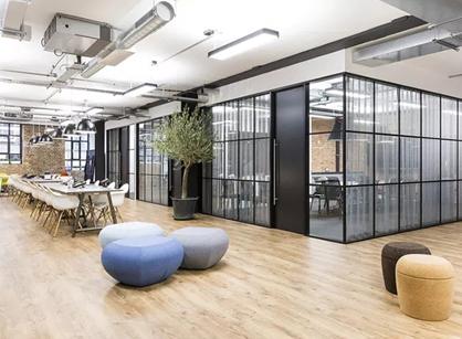 IBI group伦敦办公室装修设计案例分享
