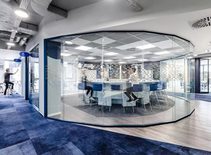 Nordea IT波兰格丁尼亚办公室装修设计分享