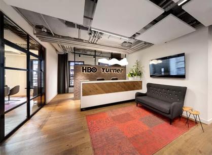 走进HBO波兰华沙办公室装修设计空间