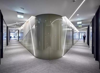 Landsec英国商业房地产开发和投资伦敦总部办公室设计